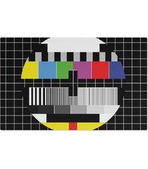 jogo americano (kit 4 unidades) nerderia e lojaria fora do ar colorido - preto - dafiti