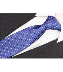 jedwab 100% jedwabny żakardowy krawat kropki