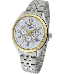 reloj plata montreal gold