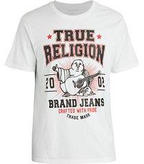 guitar buddha graphic t-shirt