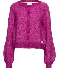 cool with wool cardigan stickad tröja cardigan rosa odd molly
