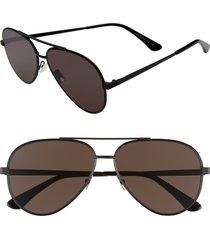 men's saint laurent classic 60mm aviator sunglasses -