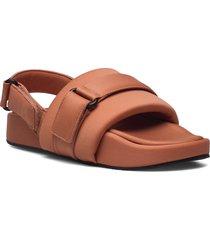 gery shoes summer shoes flat sandals brun mango