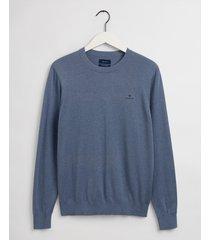 gant pullover ronde hals jeans katoen 8050063