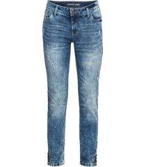 jeans skinny con bottoni a pressione (blu) - rainbow