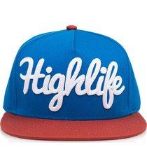 gorra azul official highlife dull