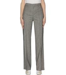 check plaid suiting pants