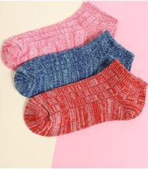 1 par de calcetines tobilleros casuales