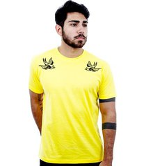 camiseta hardivision andorinhas manga curta