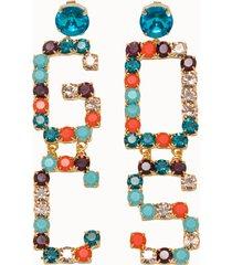 gcds orecchini pendente multicolor