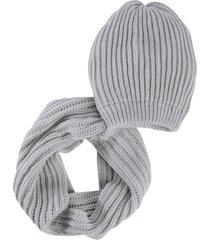 set in maglia praga (set 2 pezzi) (grigio) - bpc bonprix collection