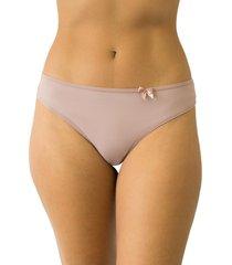 calcinha fio duplo mulher elegante qtal lingerie básico alvorada