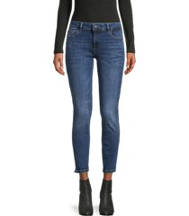 dl1961 women's florence skinny ankle-length jeans - sabine - size 32 (10-12)