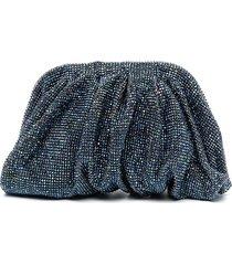 benedetta bruzziches venus crystal clutch bag - blue