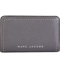 marc jacobs women's logo continental wallet - black