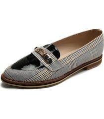 zapato casual dama mostaza escoses*charol  tellenzi 99014