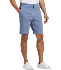 joseph abboud blue modern fit shorts
