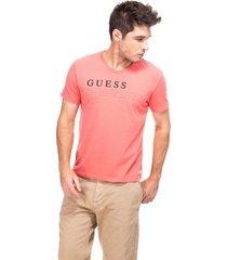 t-shirt discovery guess - estampado - masculino - dafiti