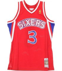 basketball nba swingman jersey allen iverson no3 1996-97 phi76e road tanktop