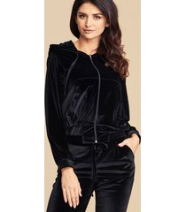 bluza dresowa black