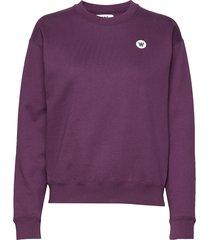 jess sweatshirt sweat-shirt trui paars wood wood