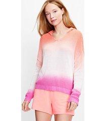 loft lou & grey dip dye hoodie sweater
