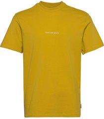 onsallen life reg ss tee t-shirts short-sleeved gul only & sons