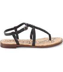 emmett leather thong sandals