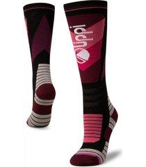 calcetin mujer all mountain ski socks ab morado lippi