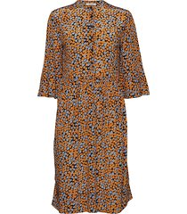 mila dress jurk knielengte multi/patroon nué notes
