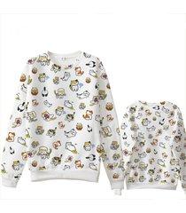 game neko atsume cute cat sweat hoodie cotton fleece hoodies sweatshirt hoodie