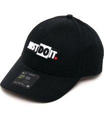 gorra negro nike u nsw l91 cap jdi block