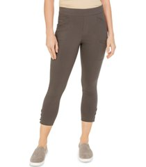 style & co cropped utility pants, created for macy's