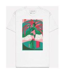 camiseta estampada passista mangueira casual reserva branco