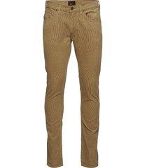 luke casual broek vrijetijdsbroek beige lee jeans