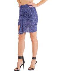 isabel marant double question mark mini skirt