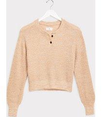 loft lou & grey henley sweater