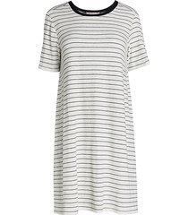 striped a-line day dress