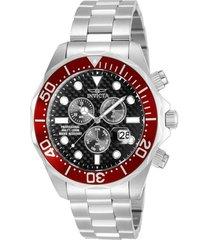 reloj invicta acero modelo 125lg para hombres, colección pro diver