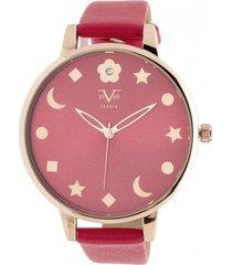 reloj rojo 19v69 italia