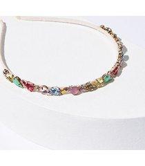 loft multicolored sparkle headband