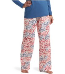 hue women's printed knit pajama pants