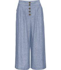 pantaloni culotte con bottoni (blu) - rainbow