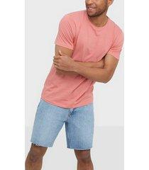 only & sons onskace reg ss tee t-shirts & linnen ljus rosa