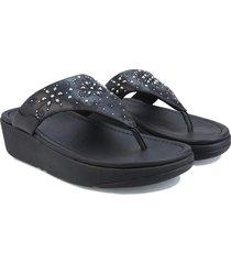 womens myla floral stud toe-thong sandals