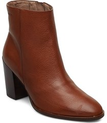 i-7902 shoes boots ankle boots ankle boots with heel brun wonders