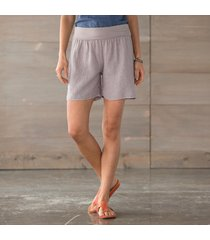 cool n easy roll top shorts-solid