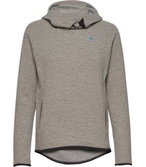 falen wooly hoodie w's sweat-shirts & hoodies fleeces & midlayers grå klättermusen