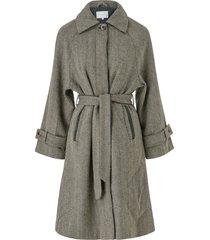 kappa viselda wool long coat