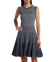 sleeveless ribbed mini dress